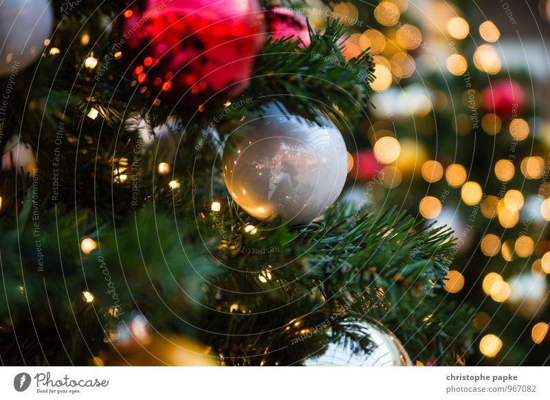 Season's Greeting IV Weihnachten & Advent Baum Beleuchtung Feste & Feiern Dekoration & Verzierung leuchten Kitsch Weihnachtsbaum Tanne Christbaumkugel
