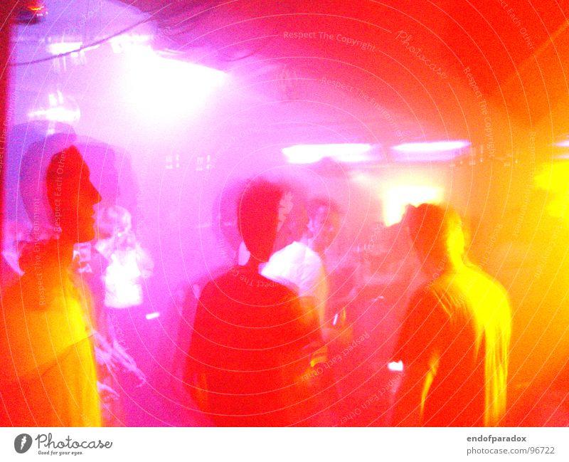 d'n'b aka hi daniel,was macht der neue job?immer noch stressig? Mensch Freude Farbe Leben Party Musik orange verrückt Lifestyle Club Wildtier London