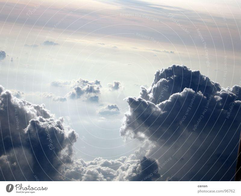 die Ruhe vor dem Sturm Himmel Wolken Freiheit träumen Europa Gewitter Klima