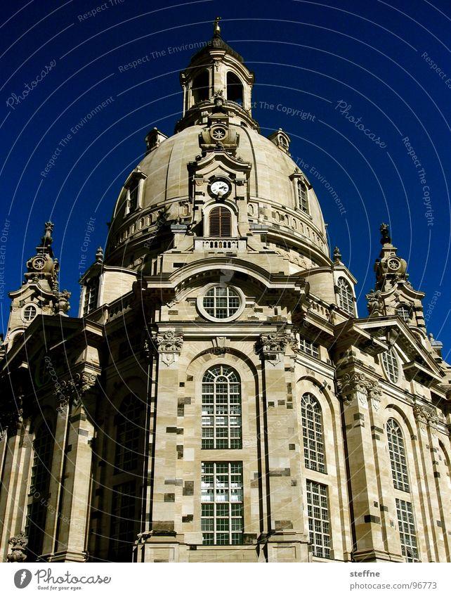 Fraungersche Dresden Sachsen Erneuerung Restauration Wahrzeichen Protestantismus Religion & Glaube Gebäude Bauwerk Gotteshäuser Frauenkirche Deutschland Himmel