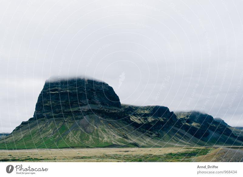 Island Ferien & Urlaub & Reisen Ausflug Abenteuer Ferne Freiheit Umwelt Landschaft Pflanze Urelemente Erde Luft Himmel Wolken Klima schlechtes Wetter Regen