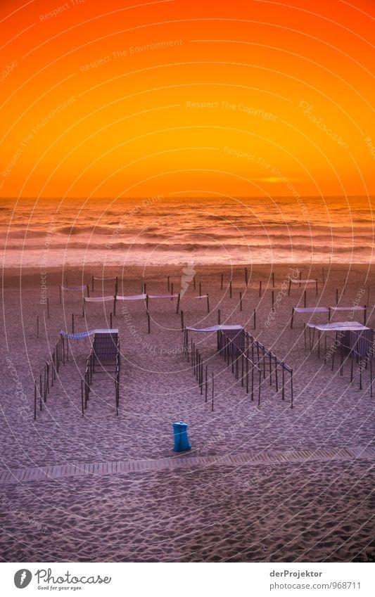 Die Ruhe nach dem Schluss Freizeit & Hobby Ferien & Urlaub & Reisen Tourismus Ferne Sommerurlaub Strand Schwimmen & Baden Umwelt Natur Urelemente Schönes Wetter