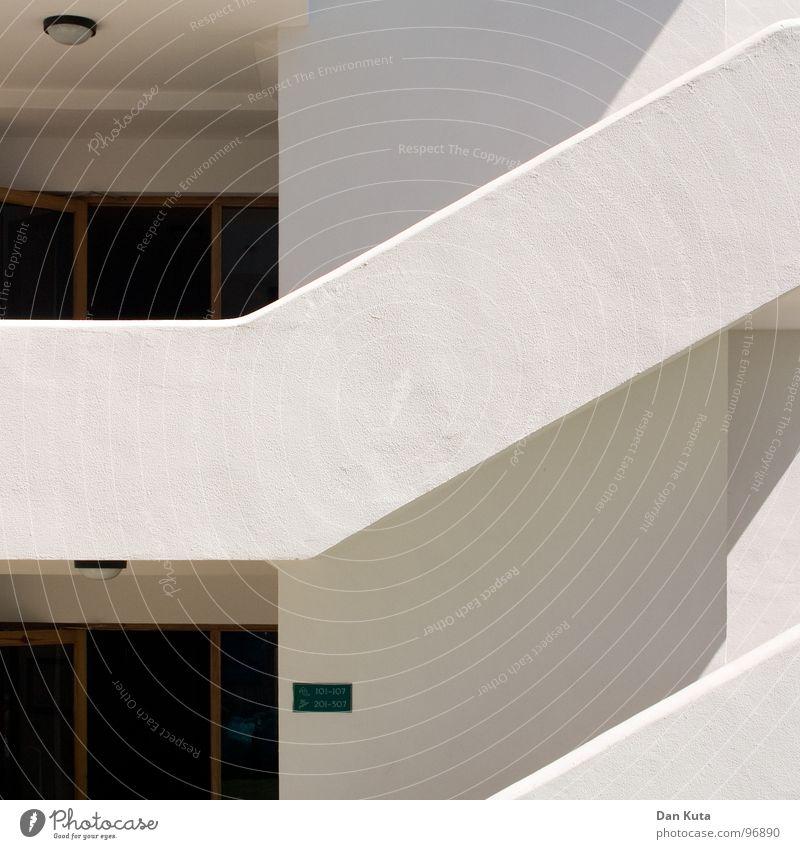 Hab spanisch reagiert weiß Sonne Sommer Ferien & Urlaub & Reisen Haus Erholung Holz Raum Wohnung Tür Schilder & Markierungen hoch Treppe modern Ecke Hotel