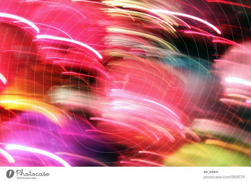 Colour Flash Lifestyle Stil Design Nachtleben Karneval Technik & Technologie Tanzen Subkultur glänzend leuchten ästhetisch modern mehrfarbig Lebensfreude Farbe