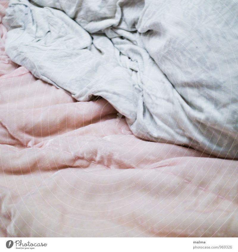 sanft Wärme rosa Dekoration & Verzierung leer weich Bettwäsche Falte Decke gemütlich kuschlig Bettdecke Bettlaken gebraucht Samt einladend