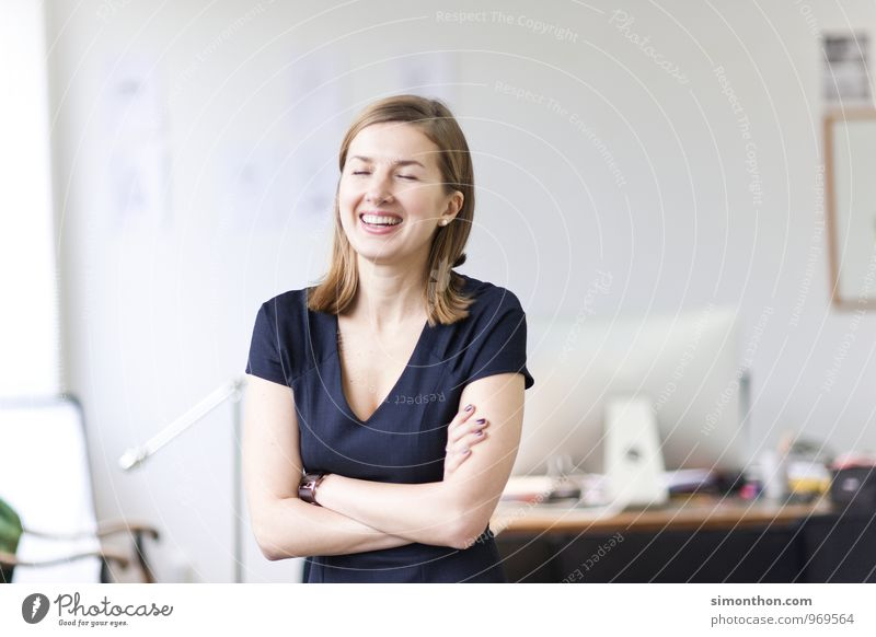 Spaß Jugendliche schön Junge Frau Erholung Freude Leben Liebe sprechen Glück Stimmung Business träumen Zufriedenheit Häusliches Leben Erfolg Energie