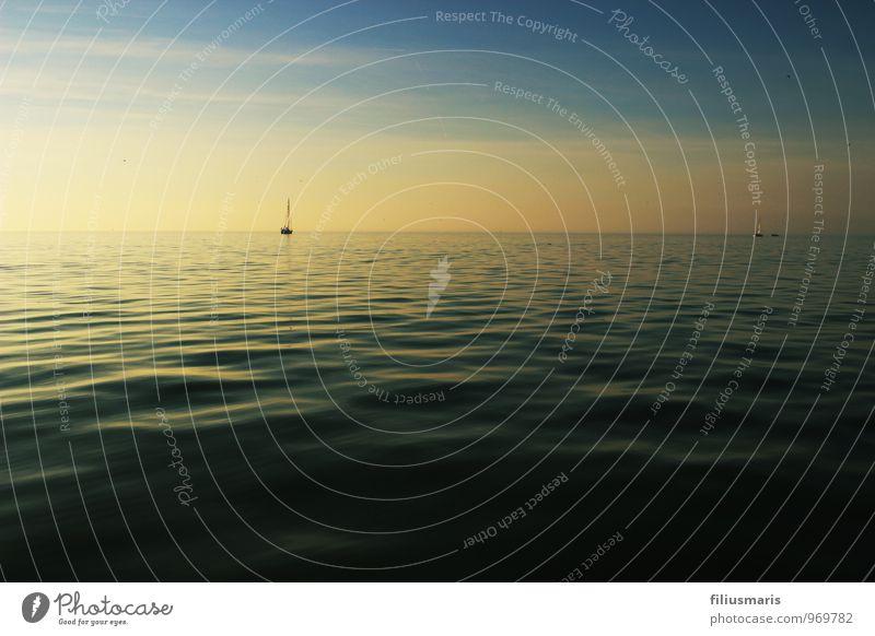Das Ijsselmeer Himmel Natur Ferien & Urlaub & Reisen blau Wasser Sommer Erholung Meer Landschaft Umwelt Sport Freiheit Wasserfahrzeug Idylle Nebel Wellen