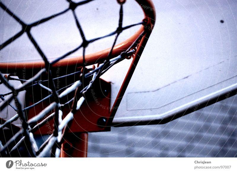 Titellos Wolken Sport Spielen Wetter Netz Freizeit & Hobby werfen Korb Basketball Basketballkorb Ballsport