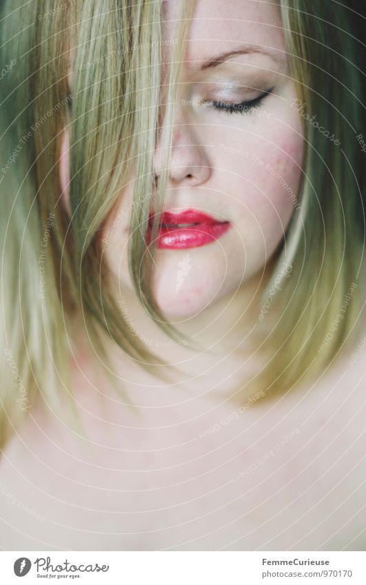 Sensual_03 Mensch Frau Jugendliche nackt schön Junge Frau Erotik 18-30 Jahre Erwachsene Gesicht Auge feminin Haare & Frisuren Kopf blond Haut