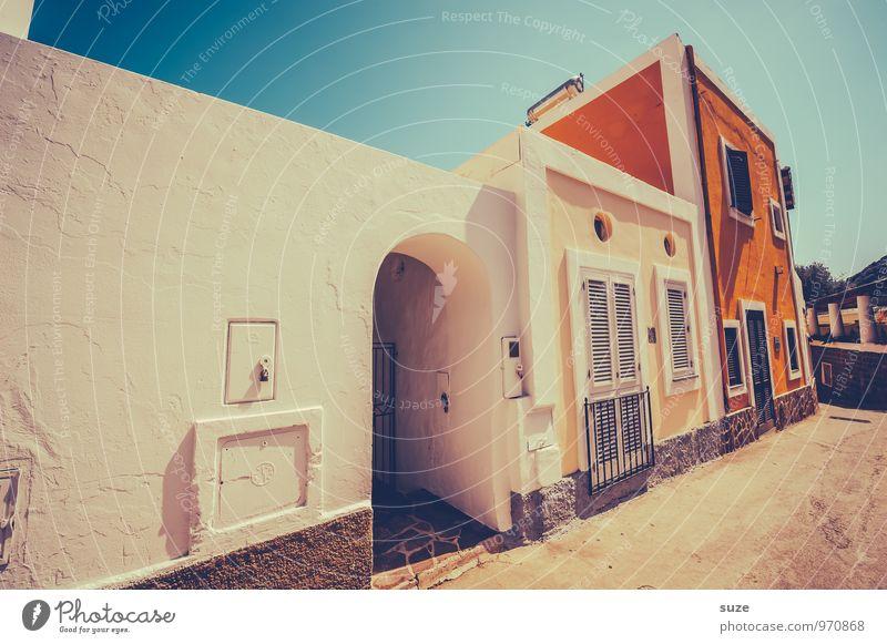 Sonneneck Ferien & Urlaub & Reisen alt schön Straße Architektur Stil Gebäude Fassade Design Idylle Tourismus Tür authentisch Fröhlichkeit Lebensfreude Kultur