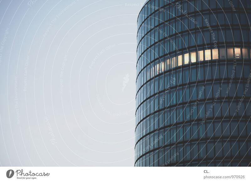 büro Himmel Stadt Fenster Architektur Gebäude Arbeit & Erwerbstätigkeit Fassade Business Büro Hochhaus Geldinstitut Bankgebäude Sitzung Stress Wirtschaft