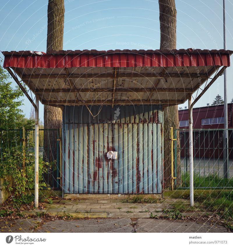 Stammhaus Blau Grun Haus Ein Lizenzfreies Stock Foto Von Photocase