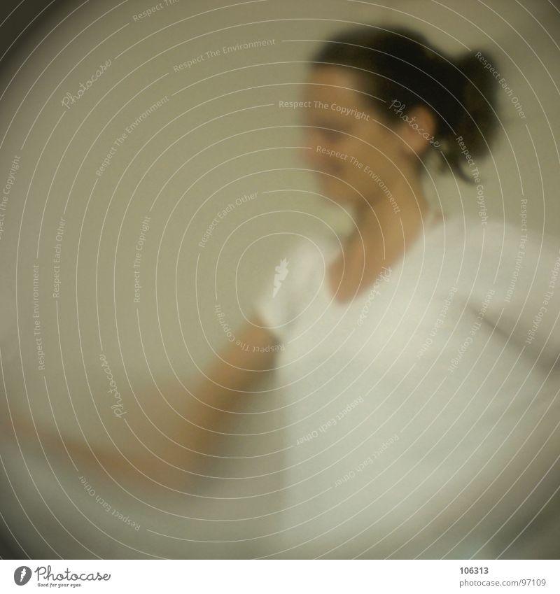 99+1 [HUNDERT MAL ANDERS] Frau schön lachen Haare & Frisuren Zufriedenheit Arme Fröhlichkeit Brust Freundlichkeit Säugetier Haushalt Begeisterung Pferdeschwanz