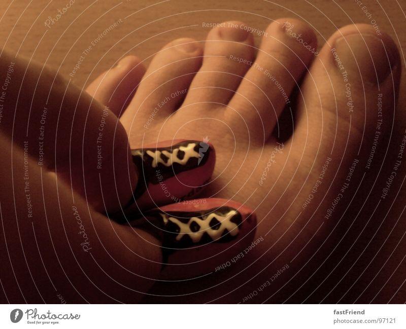 Fußgröße: 3,5 inch Fuß 2 Schuhe Rücken paarweise Finger Niederlande Entertainment Amsterdam Hausschuhe vergrößert Grundlage Zehenspitze