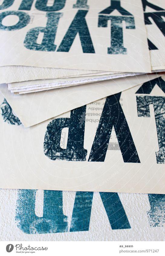 TYPO Kunst Design Schilder & Markierungen authentisch groß ästhetisch Schriftzeichen Buch Kreativität Papier Coolness Ziffern & Zahlen Zeichen Buchstaben Medien