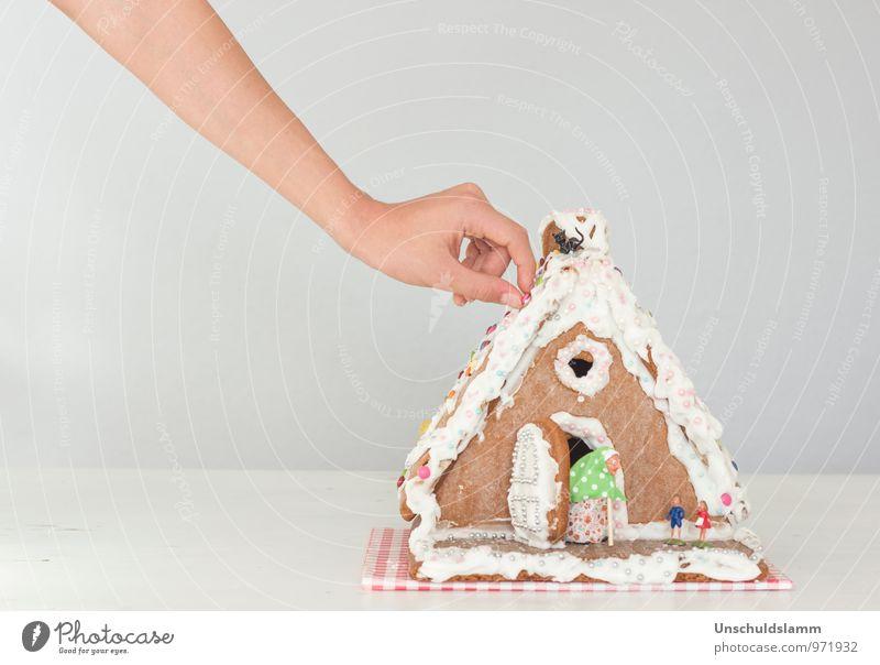 ...die olle Hexe kann mich mal! Weihnachten & Advent Hand Freude Haus Stil Essen Lebensmittel Lifestyle Freizeit & Hobby Idylle Häusliches Leben Dekoration & Verzierung Kindheit Arme Fröhlichkeit Ernährung