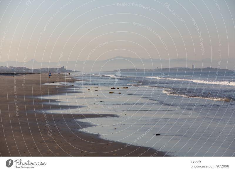 am Ende Europas Natur Ferien & Urlaub & Reisen blau Erholung Meer Einsamkeit ruhig Strand Ferne Glück Freiheit Zeit Stimmung Horizont Freizeit & Hobby