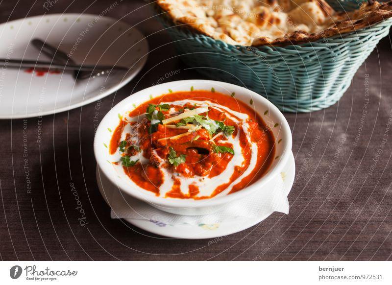Tikka Masala Lebensmittel Fleisch Joghurt Teigwaren Backwaren Suppe Eintopf Ernährung Abendessen Bioprodukte Teller Schalen & Schüsseln Besteck Billig gut