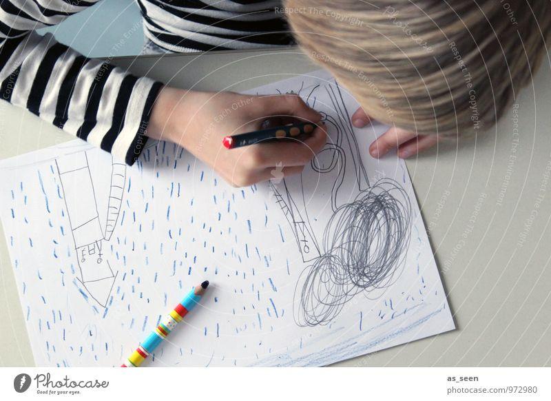 Zeichnen III Mensch Kind Farbe weiß Hand schwarz Leben Junge Haare & Frisuren hell Kunst Zufriedenheit authentisch blond Kindheit Tisch