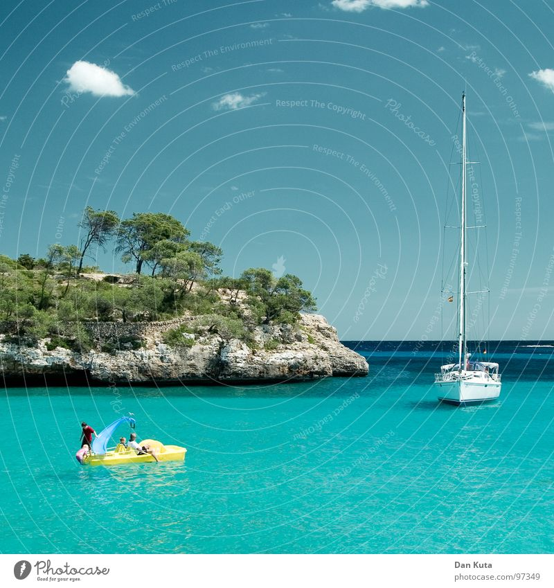 Meereszauber Wasser Himmel Baum Sommer Freude Strand Ferien & Urlaub & Reisen Wolken Wald Erholung Freiheit Glück träumen See Sand