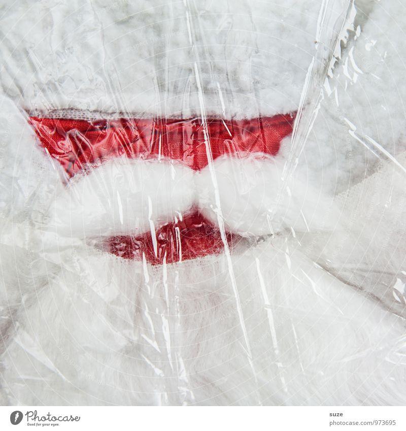 Aufreißertyp mit Schnauzer Freizeit & Hobby Feste & Feiern Weihnachten & Advent Bart Bekleidung Arbeitsbekleidung Stoff Oberlippenbart Verpackung Watte Zeichen