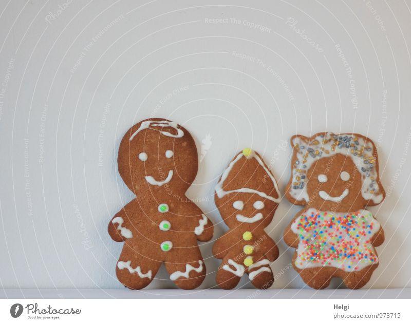Familie... Mensch Frau Kind Mann weiß Erwachsene Familie & Verwandtschaft außergewöhnlich Lebensmittel braun Zusammensein Idylle stehen ästhetisch Ernährung Kreativität
