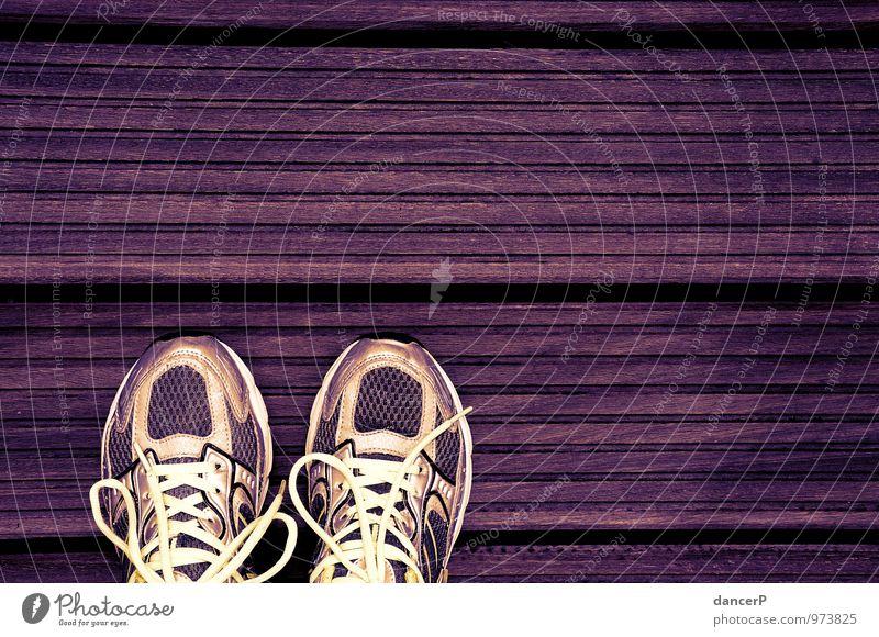 TipTap Sport Holz gehen Mode Freizeit & Hobby Angst gold stehen Erfolg Schuhe wandern laufen Bekleidung Fitness Fahrradfahren violett