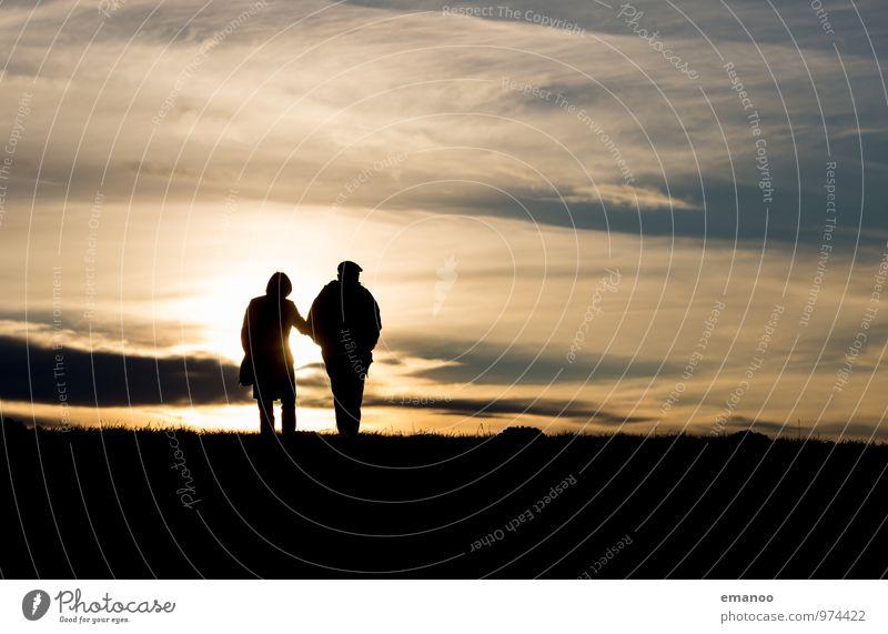 Am Ende das Tages Leben Zufriedenheit Erholung ruhig Freizeit & Hobby Ferien & Urlaub & Reisen Tourismus Ausflug Ferne Freiheit Sommer Sonne Berge u. Gebirge