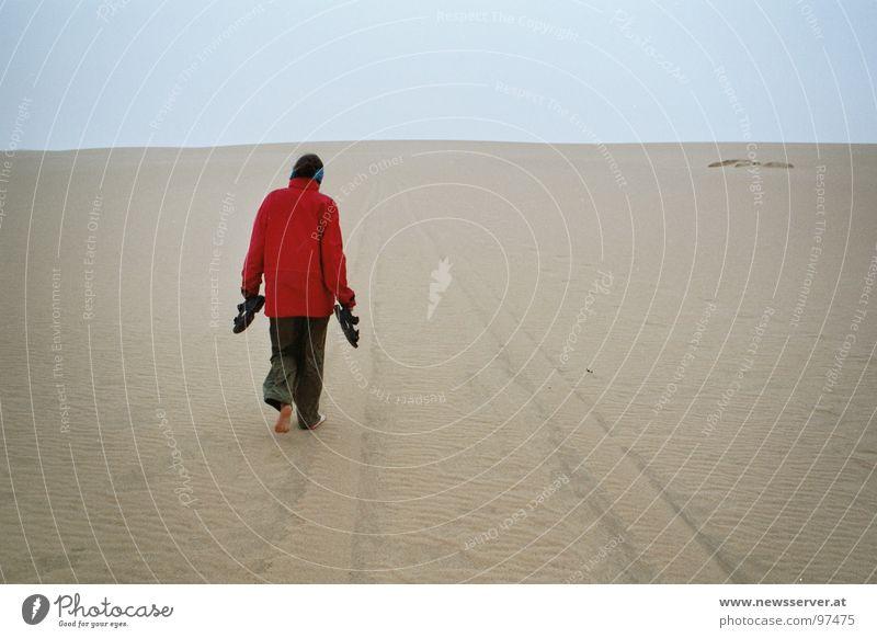 Desert Rain Einsamkeit Wege & Pfade Sand Regen Ziel Afrika Wüste Spuren Barfuß Reifenspuren Libyen