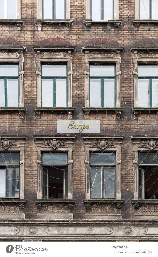 Gentrifizierung? Stadt Haus Fenster Architektur Lifestyle Fassade Wohnung Häusliches Leben Zukunft planen Suche Verfall Stadtzentrum Beratung