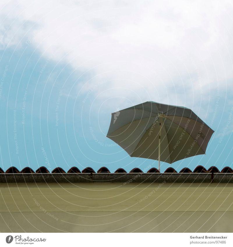 Top Level Support-Unit Himmel Sommer Mauer Wärme Schutz Physik heiß Sonnenschirm