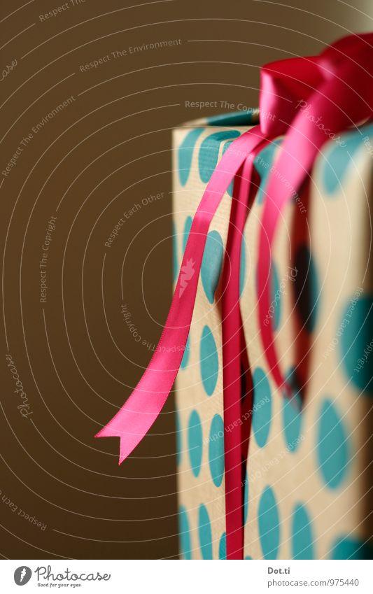 dingdongdots Reichtum Stil Freude Weihnachten & Advent Geburtstag Dekoration & Verzierung Schleife Schnur blau rosa Vorfreude Überraschung Geschenk