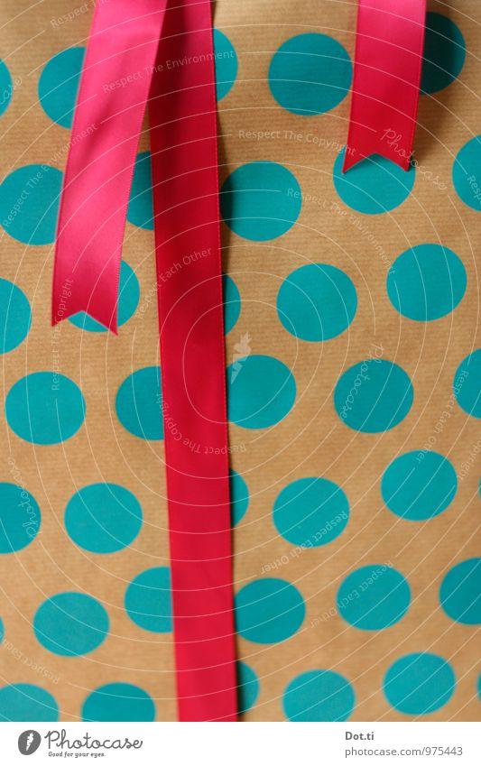 dotify Reichtum Stil Weihnachten & Advent Geburtstag Papier Dekoration & Verzierung Schnur blau rosa Vorfreude Freude geheimnisvoll Geschenk Geschenkpapier