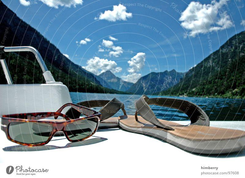 refresh royal XII Himmel Wasser Sommer Wolken Spielen Berge u. Gebirge See Wasserfahrzeug Schwimmen & Baden Freizeit & Hobby Brille Sonnenbrille Flipflops