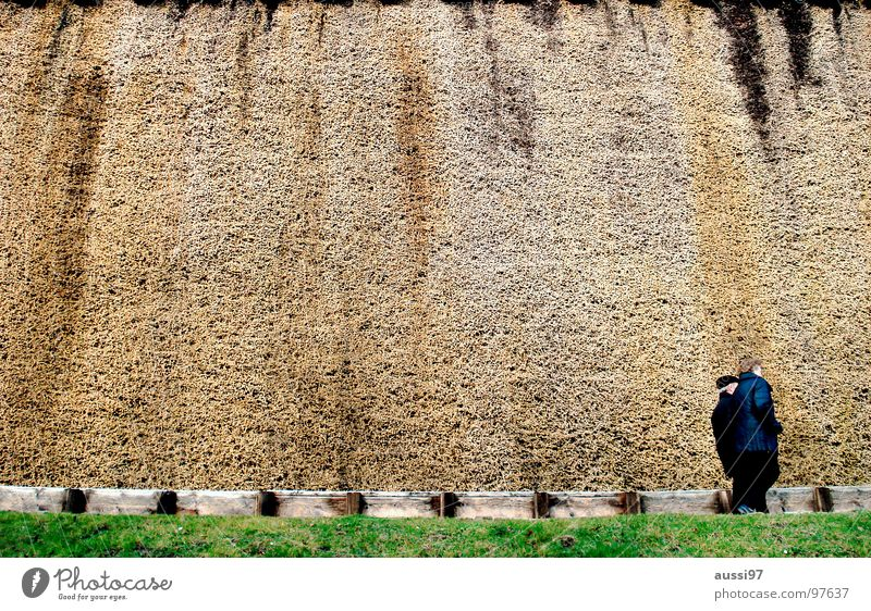 Frischluft II Saline Badeort Luft braun Kurort Wand Lunge Fassade Senior Freizeit & Hobby Salz Erholung Einatmung Spaziergang Sonntagnachmittag zum Cafe