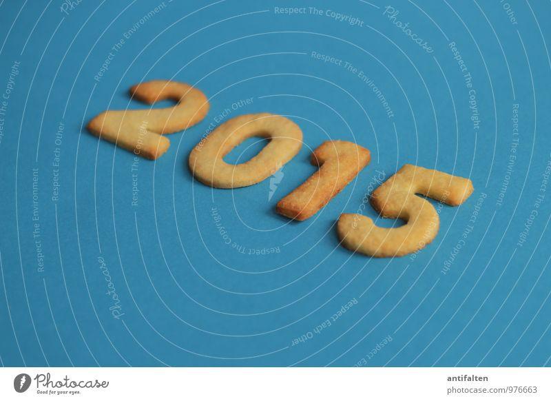 2015 blau Weihnachten & Advent gelb Essen Feste & Feiern Party gold Geburtstag Ernährung Tanzen Ziffern & Zahlen Kalender Veranstaltung Silvester u. Neujahr