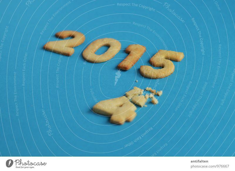 Das Jahr verkrümelt sich Teigwaren Backwaren Plätzchen Weihnachtsgebäck Mürbeteigboden Essen Kaffeetrinken Freizeit & Hobby Feste & Feiern Silvester u. Neujahr