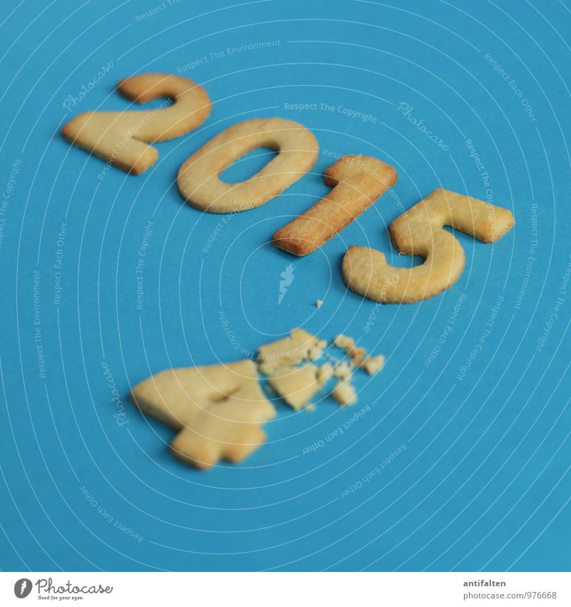 Angeknabbert Weihnachten & Advent Gesunde Ernährung Freude Essen natürlich 1 Feste & Feiern Zeit braun 2 Ernährung Kochen & Garen & Backen süß Ziffern & Zahlen Kalender Silvester u. Neujahr