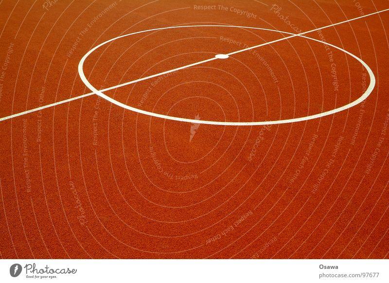 Durchschnitt rot Farbe Sport Spielen Linie orange Hintergrundbild Fußball Platz Bodenbelag Kreis weich Mitte Spielfeld Basketball Gummi