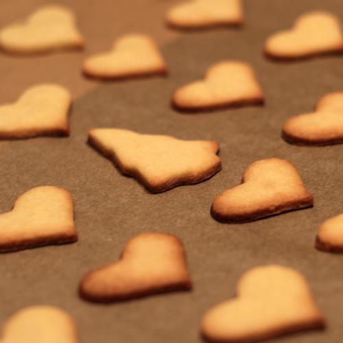 KEKSE! Weihnachten & Advent Freude Winter gelb Feste & Feiern braun gold Fröhlichkeit Ernährung Herz Kochen & Garen & Backen Zeichen viele Duft Weihnachtsbaum