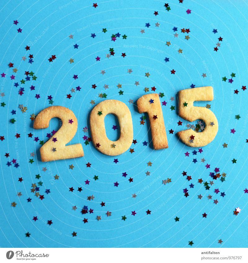 Vorfreude auf 2015 Weihnachten & Advent Essen 1 Feste & Feiern Party 2 glänzend Dekoration & Verzierung Ernährung Beginn Tanzen Stern (Symbol) Zeichen Ziffern & Zahlen Veranstaltung Silvester u. Neujahr
