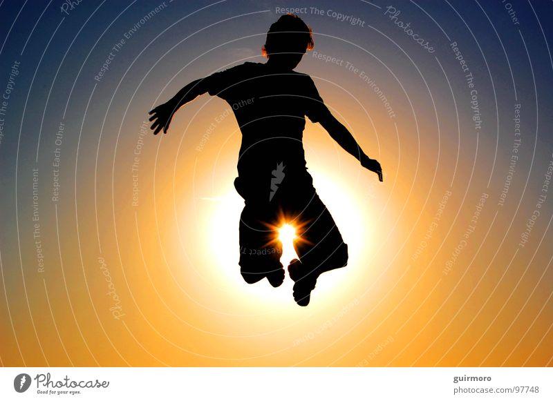 Guiraias Freedom Mensch springen Brasilien Freude Sun fly itajai santa catarina {moro}