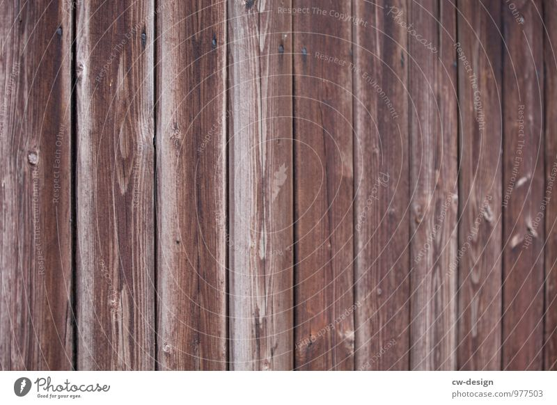 Alle Latten am Zaun Mauer Wand Fassade Holz alt nachhaltig natürlich retro trist Stadt braun grau Idee Kreativität Symmetrie Holzleiste Holzlager Holzbrett