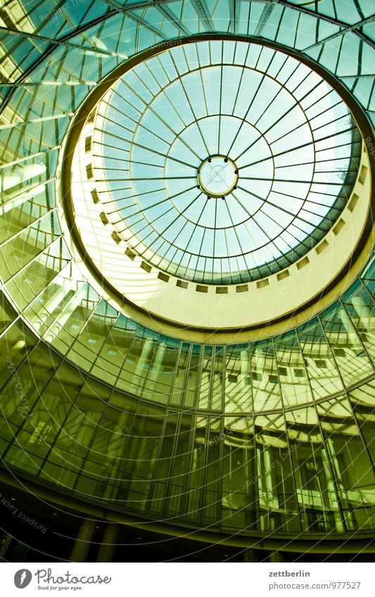 Schirn Kunsthalle Frankfurt Stadt Haus Fenster Glas Perspektive rund Museum Frankfurt am Main Maler steil Kuppeldach Strebe Atelier Kunstgalerie Oberlicht