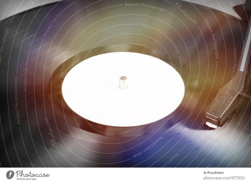 Langspielplatte Stil Musik Club Disco Diskjockey Fortschritt Zukunft High-Tech Schallplatte Feste & Feiern rund Erotik schwarz Stimmung Erholung