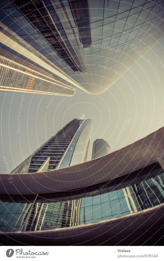 future world II Hauptstadt Skyline Hochhaus Turm Bauwerk Gebäude Architektur Mauer Wand Sehenswürdigkeit Wahrzeichen außergewöhnlich hoch modern Business
