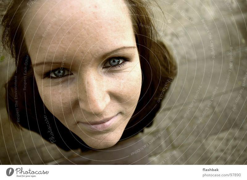 I want candy! Frau Mensch Gesicht Auge lachen Vertrauen Feierabend
