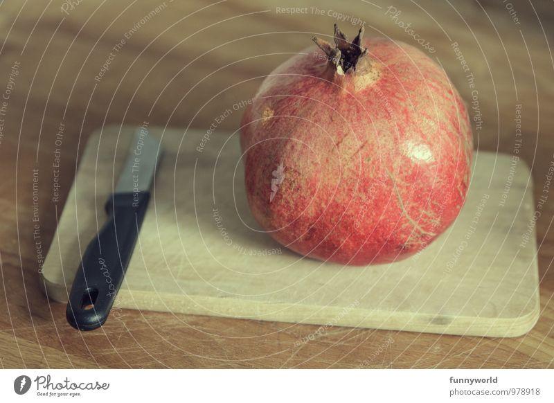 Punica Granatum Lebensmittel Frucht Granatapfel Ernährung Bioprodukte Vegetarische Ernährung Diät Slowfood Essen exotisch frisch Gesundheit lecker rund süß