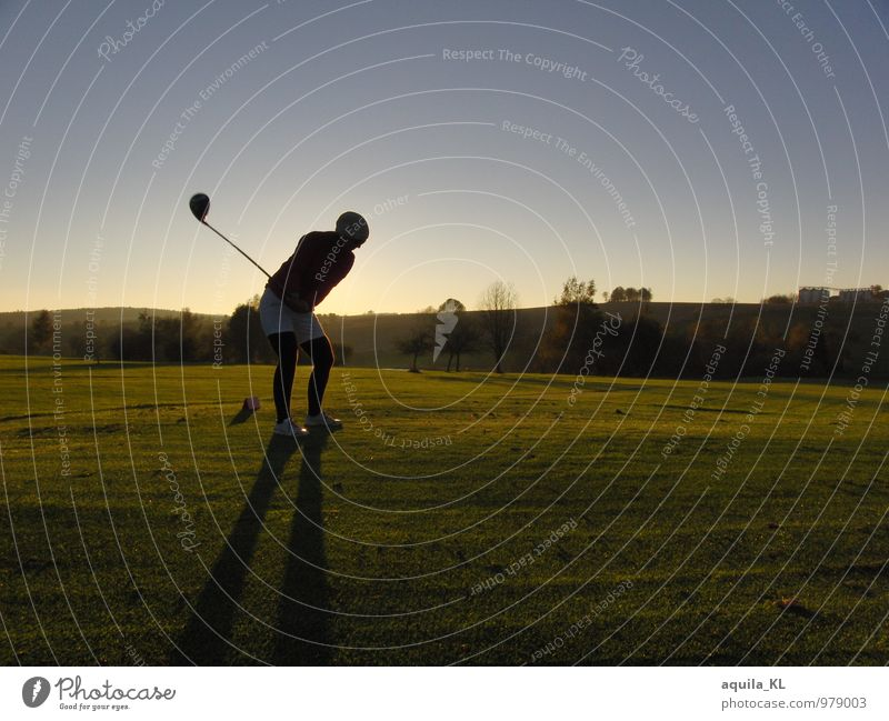 golfen mit Ausblick Natur Landschaft Sport Geschwindigkeit sportlich Freude Optimismus Kraft geduldig Selbstbeherrschung Fairness Spielsucht Wut Frustration