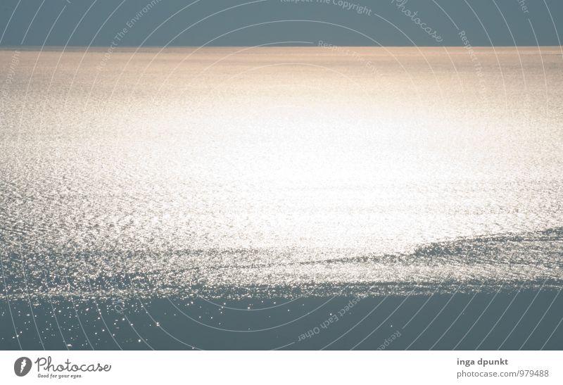 Stille Umwelt Natur Landschaft Urelemente Wasser Sonne Klima Schönes Wetter Wellen Meer See Totes Meer Israel Naher und Mittlerer Osten außergewöhnlich